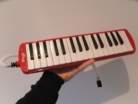 The 'keyboard' that Adam had sent.
