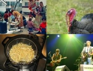 Gypsies, a Turkey, a pan of French Fries, and the Kings of Leon